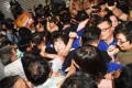 Fighting breaks out on Tuesday as Taiwan's opposition party moves to occupy the island's parliament. Photo: CNA