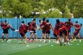 Chinese Super League players are back in training ahead of the July 25 big kick off. Photo: Reuters
