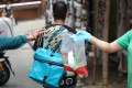 More people are using food delivery apps as Hong Kong hunkers down amid the Covid-19 pandemic. Photo: Nora Tam