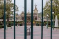 Hong Kong Disneyland Resort has been closed until further notice as the city battles a third wave of coronavirus infections. Photo: Bloomberg