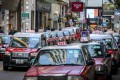 At least 10 taxi drivers have been confirmed infected with coronavirus in Hong Kong. Photo: Winson Wong