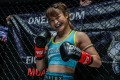 Stamp Fairtex before her bout against Janet Todd in Singapore. Photos: ONE Championship
