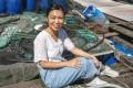 Spirit of Hong Kong Awards 2020 nominee Ranae So at Choi Kee Fish Farm in Sam Mun Tsai. Photo: Jonathan Wong