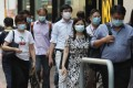 A top health expert has called for firms to encourage staff to keep away from the office as part of the effort to cut the chains of coronavirus transmission in Hong Kong. Photo: Xiaomei Chen