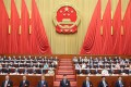 Communist Party leaders hold the closing meeting of the third session of the 13th National People's Congress, at the Great Hall of the People in Beijing on May 28. Attempts to drive a wedge between the Communist Party and the Chinese people are doomed to failure because the Communist Party is the Chinese people. Photo: Xinhua