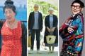 Instagramers rewriting fashion rules for the over-50s: Korean Grandma, Tsuyoshi and Tomi Seki, Jenny Kee. Photo: @korea_grandma, @bonpon511, @jennykeeoz/Instagram