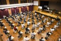 Students take the Hong Kong Diploma of Secondary Education (DSE) at the Munsang College in Kowloon City. Photo: Handout