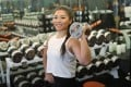 Bodybuilder, bikini model competitor and personal trainer Anita Yiu worked in the corporate world for seven years before seeking fitness, then making it her job. Photo: May Tse