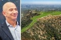 Jeff Bezos considered buying 'The Mountain' property in Beverly Hills – but thought it overpriced, maybe the new US$100,000 prize tag will appeal? Photos: DPA; handout