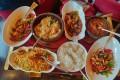 Indian-Chinese food at the award-winning Shang Palace at the Shangri-La Hotel in New Delhi. Photo: Divyang Saxena