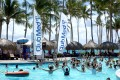 Club Med banners at its resort in Punta Cana, Dominican Republic. Fosun bought the business in 2015 after outbidding rival offer from an Italian businessman. Photo: Reuters