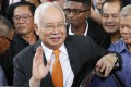 Former Malaysian prime minister Najib Razak will hear the verdict in his trial, involving seven of the 42 criminal charges he is facing over his alleged role in the looting of Malaysia's 1MDB state fund. Photo: AP