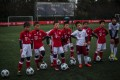 Chinese boys in Bayern Munich jerseys take part in a training session after the opening ceremony of Bayern's Shanghai office. Photo: AFP
