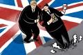 Bilateral trade between Britain and China exceeded US$102.5 billion last year. Illustration: Lau Ka-kuen