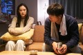 Issey Takahashi (right) and Yu Aoi star in Romance Doll on Netflix, directed by Yuki Tanada.