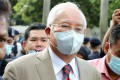 Former Malaysian Prime Minister Najib Razak arrives at the Kuala Lumpur High Court on July 28, 2020. Photo: Reuters