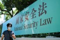 Beijing last month imposed a national security law on Hong Kong. Photo: AFP