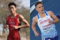 Hong Kong triathlete Wong Tsz-to and Great Britain half-marathon runner Jake Smith were rivals in school events. Photos: Handouts