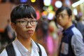 Tony Chung, from disbanded group Studentlocalism, is one of the four suspects. Photo: Dickson Lee