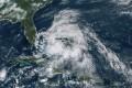 Hurricane Isaias over the Bahamas. Photo: NOAA via AP