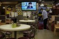 Restaurant dining-in services in Hong Kong are banned between 6pm and 5am. Photo: AP