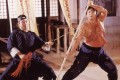 Sammo Hung (right) and Huang Ha in a still from Encounter of the Spooky Kind (1980). The success of the film, which Hung directed and co-wrote, made him a player in Hong Kong cinema.