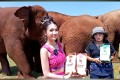 ENP Coffee, a Thai coffee brand, streams a virtual tour of tourist hotspot Elephant Nature Park on Lazada Thailand. Photo: Lazada
