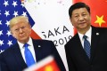 US President Donald Trump and Chinese President Xi Jinping at the G20 Summit in Osaka, Japan, in 2019. Photo: AFP