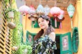 Hong Kong actress Kathy Chau says she feels happier after moving to Beijing, where it is more spacious and her house on the city's outskirts allows her to pursue her passion for plants.