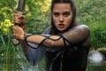 Perth-born Katherine Langford is slaying in Cursed. Photo: Netflix