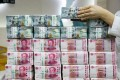 China's foreign exchange reserves – the world's largest – rose US$42.06 billion in July to US$3.154 trillion, central bank data showed. Photo: Bloomberg