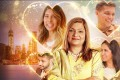 Sima Taparia, foreground centre, is the titular match arranger in Netflix's new hit series 'Indian Matchmaking'. Photo: Netflix