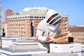 Hotels around the world are getting in on the beekeeping trend. Hives on the roof of The Clift Royal Sonesta in San Francisco.