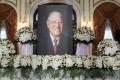A public memorial to Taiwan's late leader Lee Teng-hui has been set up at the Taipei Guest House. Photo: Reuters