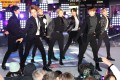 BTS, performing at New York's Times Square New Year's Eve 2020 Celebration, are inundated with gifts whenever a member celebrates a birthday. Photo: Getty Images