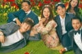 Which old flame will our single mother heroine, played by Song Ji-hyo (centre), choose in Was it Love? Photo: Handout