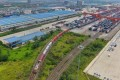 China wants to boost transport of bulk cargo by railway to cut air pollution. Photo: Xinhua