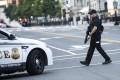 US Secret Service staff respond to a shooting near the White House in Washington on Monday. Photo: Xinhua