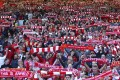 Bill Shankly used to say that the Spion Kop end of Anfield was able to 'suck the ball into the net'. That's the kind of advantage Liverpool will likely have to do without next season. Photo: AP