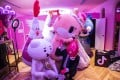 Fans in costume pose for photographs at a TikTok Creators lab event in Tokyo in February 2019. The Trump administration sees the short-video app as a potential national security threat. Photo: Bloomberg