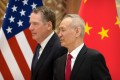 US Trade Representative Robert Lighthizer and Chinese Vice-Premier Liu He played a leading role in the negotiations. Photo: AFP