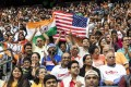 About 50,000 Indian-Americans attended a 'Howdy Modi' event in Houston last September. But not all of the Indian diaspora in the country supports his government. Photo: Bloomberg