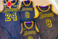 Vanessa Bryant, Kobe Bryant's widow, posted a photo of the 'Black Mamba' jerseys. Photo: Vanessa Bryant/Instagram
