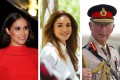 Royals who have written books: Meghan Markle, Queen Rania of Jordan, Prince Charles. Photos: Reuters, @queenrania/Instagram, @charlesprinceofwales/Instagram
