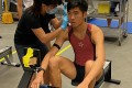 Chan Chi-fung has broken two indoor rowing machine world records in past month. Photo: Handout