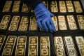 Spot gold soared to a record above US$2,075 an ounce this month. Photo: Bloomberg