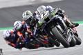 Monster Energy Yamaha's Spanish rider Maverick Vinales before his fiery crash at the MotoGP Styrian Grand Prix. Photo: AFP