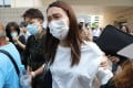 Ho Pui-yee appears at West Kowloon Court on the first day of the inquest into the death of her 15-year-old daughter Chan Yin-lam, whose body was found in the sea near Tseung Kwan O. Photo: K.Y. Cheng