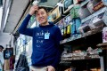 """Convenience stall vendor """"Hong"""" in Lai Chi Kok, Hong Kong, has been working at the same spot for 53 years, since he was 12. He is one of many people featured on the online platform Hong Kong Shifts. Photo: Hong Kong Shifts"""