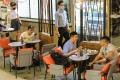 Hong Kong restaurants will be allowed to serve dine-in guests until 9pm from Friday. Photo: May Tse